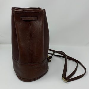 Vintage Coach Bixby Sling Bucket Bag 9984, Brown